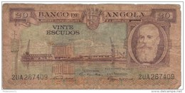 Billet 20 Escudos Angola - Angola