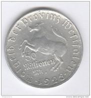 50 Millions De Deutsche Mark Allemagne / Germany - CC Freiherr Vom Stein 1923 - [ 3] 1918-1933 : Weimar Republic
