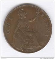 1 Penny Grande Bretagne / Great Britan 1914 - 1902-1971 : Monnaies Post-Victoriennes