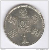 100 Pesetas Espagne / Spain 1980 - [ 5] 1949-… : Royaume