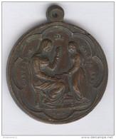 Médaille Confrérie De Sainte Anne - Paroisse Du Sacré Coeur - France