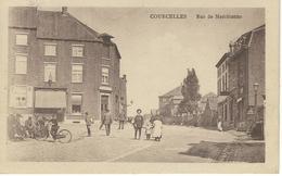 COURCELLES : Rue De Marchienne - RARE CPA - Cachet De La Poste 1933 - Courcelles