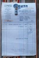 94 MAISON ALFORT 25 PONTARLIER 57 METZ BAN St MARTIN Distillerie De La SUZE Conge - Factures