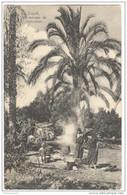 CPA Libye - Tripoli - Un Ménage De Bédouines - Circulée En 1908 - Libia