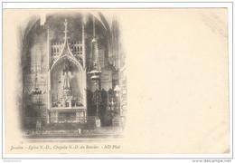 CPA Josselin - Eglise Notre Dame, Chapelle Notre Dame Du Roncier  - Non Circulée - Josselin