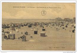 CPA Berck Plage - Les Cabines - Vue Générale De La Plage à Marée Basse - Circulée En 1921 - Berck