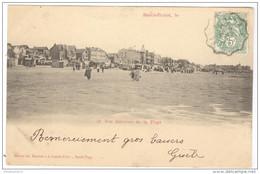 CPA Berck Plage - Vue Générale De La Plage - Circulée En 1903 - Berck