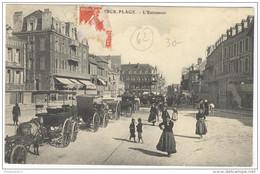 CPA Berck Plage - L'Entonnoir - Circulée - Berck