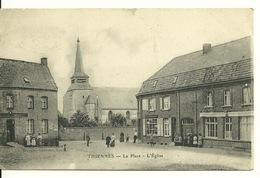 59 - THIENNES / LA PLACE DE L'EGLISE - Autres Communes