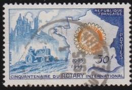 France   .   Yvert    .    1009     .      O      .     Oblitéré - France