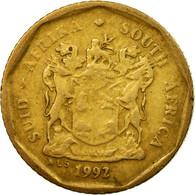 Monnaie, Afrique Du Sud, 10 Cents, 1992, TB, Bronze Plated Steel, KM:135 - Afrique Du Sud