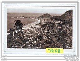 9505  AK/PC/CARTE PHOTO 3068 RIO DE JANEIRO PRAIA DE COPACABANA - Rio De Janeiro