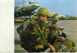 Parachutting - Yugoslav Army - Plane - Paracadutismo