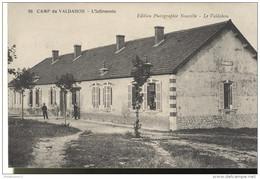 CPA Camp Du Valdahon - Infirmerie -  Circulée 1915 - Autres Communes