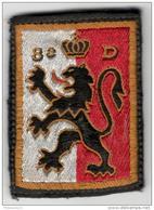 Ecusson Tissu 8ème Division D'Infanterie WW1 - Ecussons Tissu