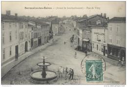 CPA Sermaize Les Bains - Rue De Vitry ( Avant Le Bombardement ) - Circulée 1915 - Sermaize-les-Bains