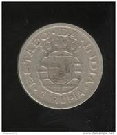 Inde Portugaise 1 Roupie 1947 - Portugal