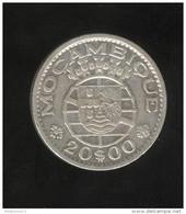 20 Escudos 1952 Mozambique Colonie Portugaise - Portugal