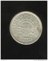 5 Escudos 1960 Mozambique Colonie Portugaise - Portugal