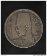 5 Piastre Egypte 1939 - Farouk - TTB - Egypt