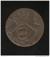 1 Liard De Liège - Maximilien Henri De Bavière - Circa 1660 - Belgique
