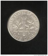 1 Dime Etats Unis / United States 1959 TTB+ - Émissions Fédérales