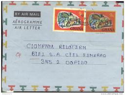 Marcophilie - Lettre Ghana Vers La Suisse - 1977 - Ghana (1957-...)