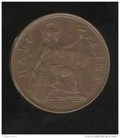 Half Penny Grande Bretagne / United Kingdom 1935 Georges V - TTB+ - 1816-1901 : Frappes XIX° S.