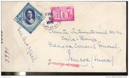 Marcophilie - Lettre République Dominicaine Vers La Suisse 1942 - Censurée - Dominicaine (République)