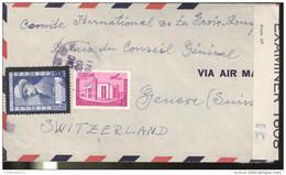 Marcophilie - Lettre République Dominicaine Vers La Suisse 1941 - Censurée - Dominicaine (République)