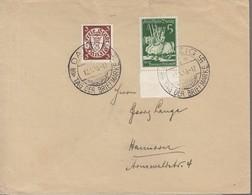 N° 176A + 251/ L 181 En P. Bdf / L De Flamme : Danzig / Tag Der Briefmarken / 12/1/30-> Hanover - Dantzig