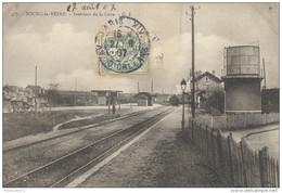 CPA Bourg La Reine - Intérieur De La Gare - Circulée En 1907 - Bourg La Reine