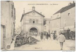 CPA Gevrey Chambertin - La Mairie - Circulée En 1917 - Gevrey Chambertin