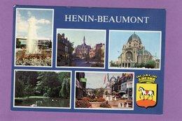 62 HENIN BEAUMONT Multivues Blason - Henin-Beaumont