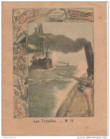Cahier D'écolier - La Marine Militaire - Les Torpilles - Récits D'anecdotes De La Campagne Du Tonkin - 1900 - Vecchi Documenti