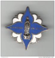 Badge Diocèse De Dijon - Emaillé - Très Bon état - Religión & Esoterismo