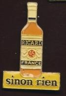 """ RICARD ""  Sinon Rien   Ble Pg4 - Beverages"