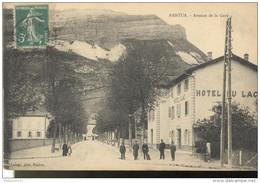 CPA Nantua - Avenue De La Gare - Circulée 1911 - Nantua