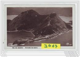 9506  AK/PC/CARTE PHOTO 3067 RIO DE JANEIRO ENTRADA DA BARRA - Rio De Janeiro