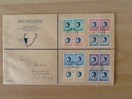 FDC Coronation Of His Majesty King George VI 12 Th May 1937 - Afrique Du Sud-Ouest (1923-1990)