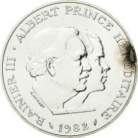 Monnaie, Monaco, Rainier III Et Albert, 100 Francs, 1982, Paris, ESSAI, SUP+ - Monaco