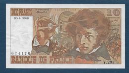 France - Billet De 10 F Berlioz Du  5 - 8 - 1976 - 10 F 1972-1978 ''Berlioz''