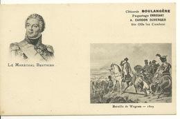 CHICOREE LA BOULANGERE - SERIE HISTOIRE / BATAILLE DE WAGRAM - MARECHAL BERTHIER - 1809 - Histoire