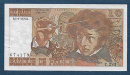 France - Billet De 10 F Berlioz Du  5 - 8 - 1976 - 1962-1997 ''Francs''