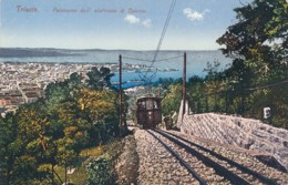 U.842.  TRIESTE - Panorama Dall'elettrovia Di Opicina - Trieste