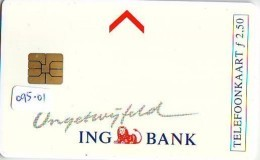 NEDERLAND CHIP TELEFOONKAART CRD-095.01 * ING BANK  * Telecarte A PUCE PAYS-BAS * NL ONGEBRUIKT * MINT - Nederland