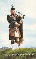 ECOSSE--greetings From Bonnié Scotland--( Cornemuse )---voir 2 Scans - Ecosse