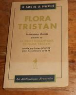 Flora Tristan. Morceaux Choisis. 1947; - Libri, Riviste, Fumetti