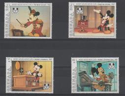 Disney Grenade Grenada 1993 Série 2338-341 4 Val ** MNH - Disney