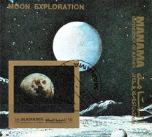 Manama  Block Mondforschung - Raumfahrt
